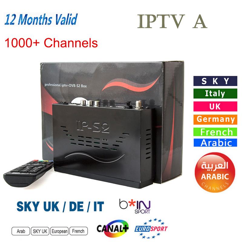Prix pour Nouveau IP-S2 Plus Full HD 1080 P DVB-S2 + 1000 + IPTV Numérique Vidéo Radiodiffusion Satellite Récepteur que tiger z280 mag254/ips2/ip-s2