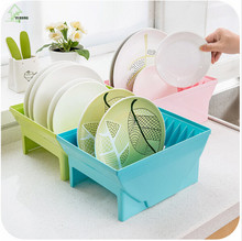 YI HONG Multi-purpose Bathroom Kitchen Shelves Combination Buckle Fixed Storage Rack Dish Draining A1222c