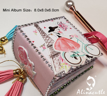 Die Cut Metal Cutting die Album flip photo memory Flower Scrapbook Paper Craft Handmade Card Punch Art Cutter Die Cut Alinacraft