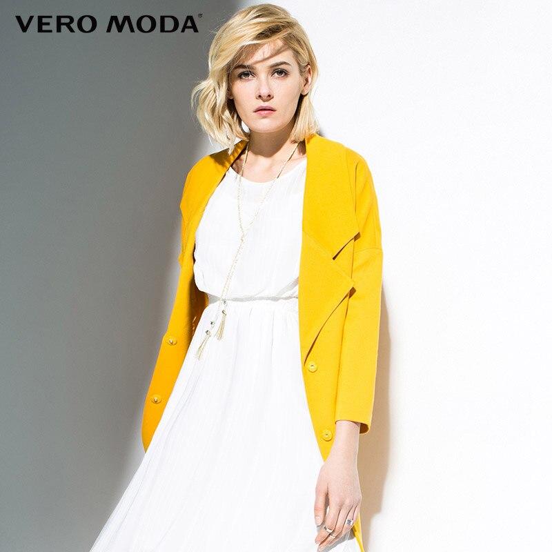 Coat Jacke Vero Moda Women New-Fashion Brand Single-Breasted Simple Regular 316117010