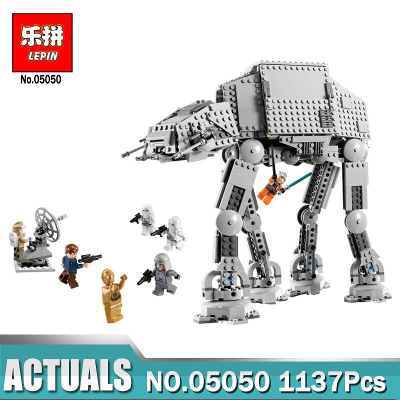 Lepin 05051 05130 05050 Étoiles En Force de Guerre Réveiller La À-À Transport À Pied Robot Blocs Éducatifs Jouets Legoings 10178