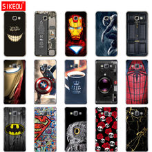 Silikon Case untuk Samsung Galaxy A3 A5 A7 2015 2016 2017 Case A500 A510 A520 A300 A310 A320 A700 A710 a720 Cover Funda(China)