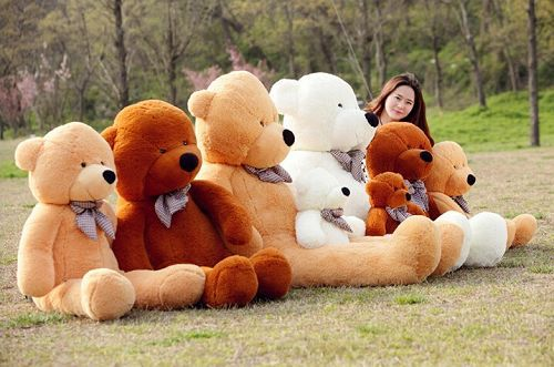 Plush toys large size 80cm teddy bear big embrace doll /lovers/christmas gifts birthday gift 96335-96338