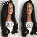 Full Lace perucas de cabelo humano para mulheres Beyonce cabelo humano peruano frente perucas com cabelo do bebê Glueless onda Natural