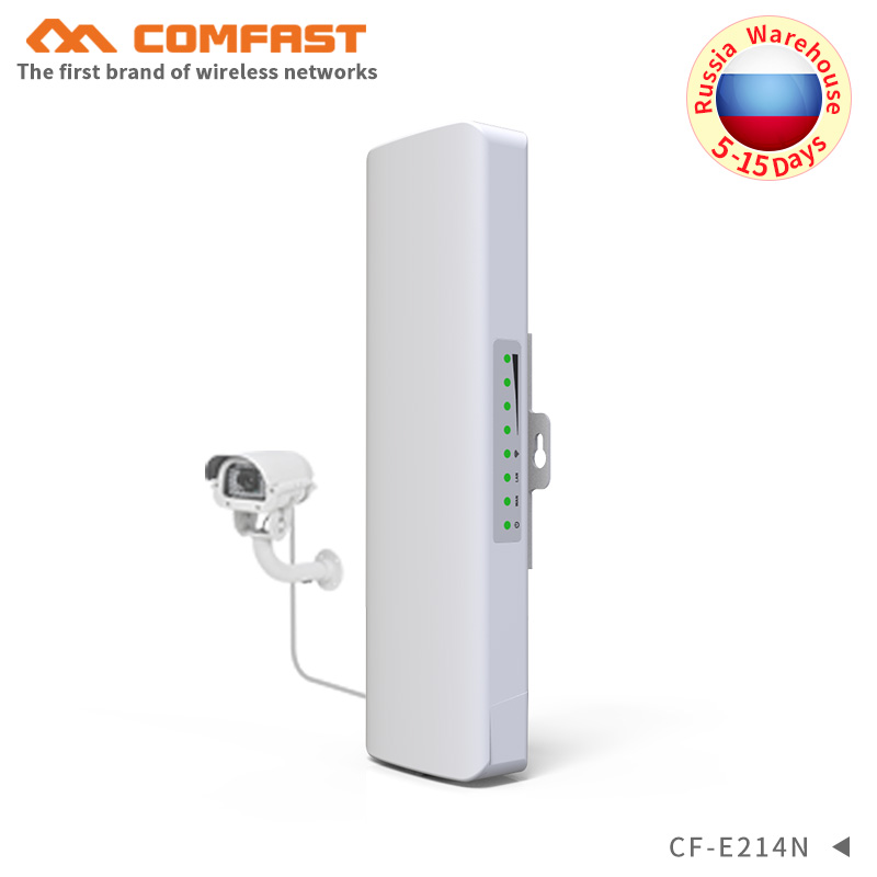 1 2KM Outdoor Weatherproof WIFI CPE Wireless bridge Long Range extender signal booster repeater Client Router