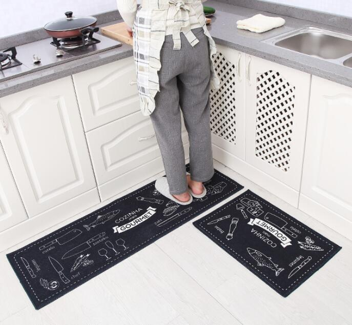 2pcs modern kitchen mat anti slip hallway balcony carpet free shippingchina mainland - Kchen Tapeten Modern