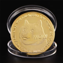 Moneda de perro Animal encantador a las monedas de Doge de Mooni decorar moneda(China)