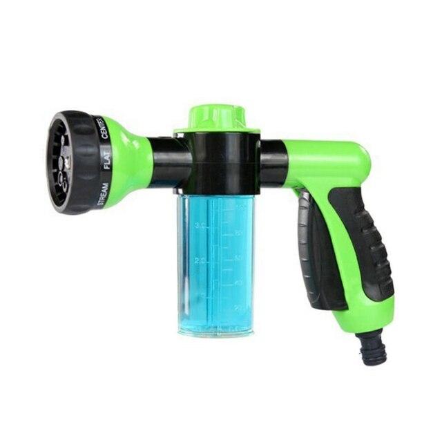 Groene Auto Wasmachine Hoge Druk Foamer Waterpistool Beroep Car