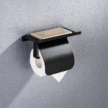 Лаконичный держатель для рулонной бумаги из нержавеющей стали, настенный держатель для туалетной бумаги, держатель для телефона, приспособление для ванной комнаты, аксессуары для ванной комнаты