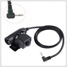 2.5 MILÍMETROS U94 táticas fones de ouvido para motorola T5900, T5920, T5950, T6200, T6210, T6220, t6222, T6250 walkie talkie