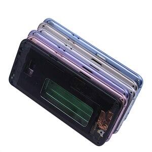 Image 5 - Netcosy Samsung S8 G950 S8 artı G955 orta çerçeve plaka çerçeve muhafazası kapağı için Replacemenrt Samsung S9 G960 S9 artı G965
