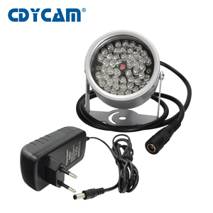 CDYCAM CCTV LEDS 48 array IR led illuminator Light CCTV IR Infrared waterproof Night Vision For Security Camera with 12V2A power