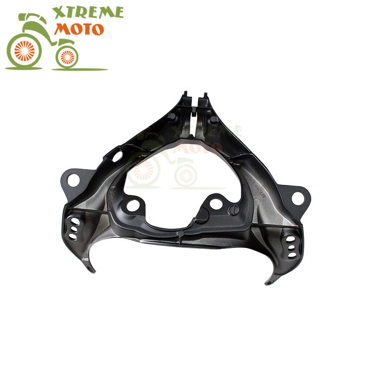 Aluminum Black Motorcycle Front Upper Fairing Bracket Stay Racer Light For SUZUKI GSXR1000 2005-2006 2005 2006 05 06 aftermarket free shipping motorcycle parts front rider foot pegs bracket fit for suzuki gsxr1000 2005 2006 2007 2008 polish