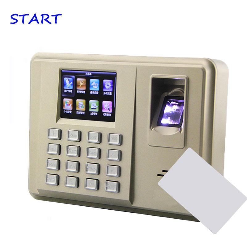 TX638 TCP/IP Biometric Fingerprint Time Attendance 13.56MHz Card Fingerprint Attendance System With 3000 Fingerprint Capacity