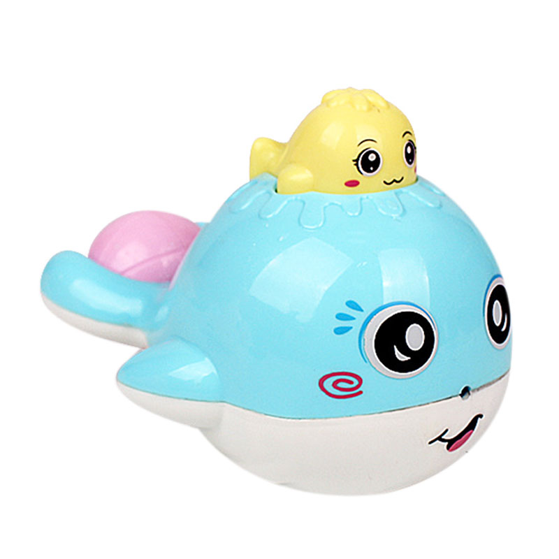 Shower Toy Children'S Bath  Baby  Water Spray Small Whale Toys Bath Water Spray Small Whale