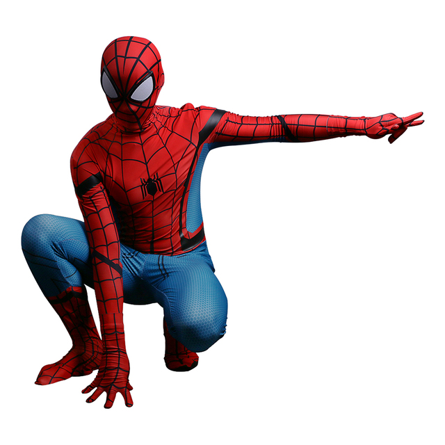 rouge et bleu spider man spiderman b b fille 3d spider man costumes adultes enfants enfants. Black Bedroom Furniture Sets. Home Design Ideas
