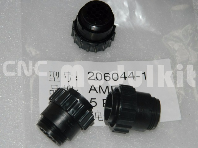 smema smt device connector amp 206044-1 te 14 position 14p 4 14mm circular  connector plug for male contacts cnc modulkit