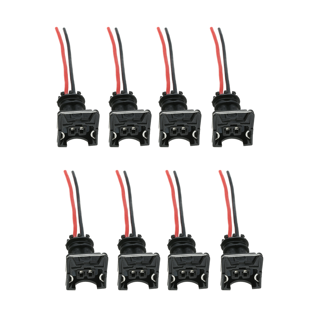 aliexpress com   buy 8pcs fuel injector connector wiring plugs clips fit ev1 obd1 pigtail cut