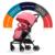 Carrinho de bebê pode ser deitado no empurrar carrinho de bebê do carro guarda-chuva carro choque portátil ultra-leve