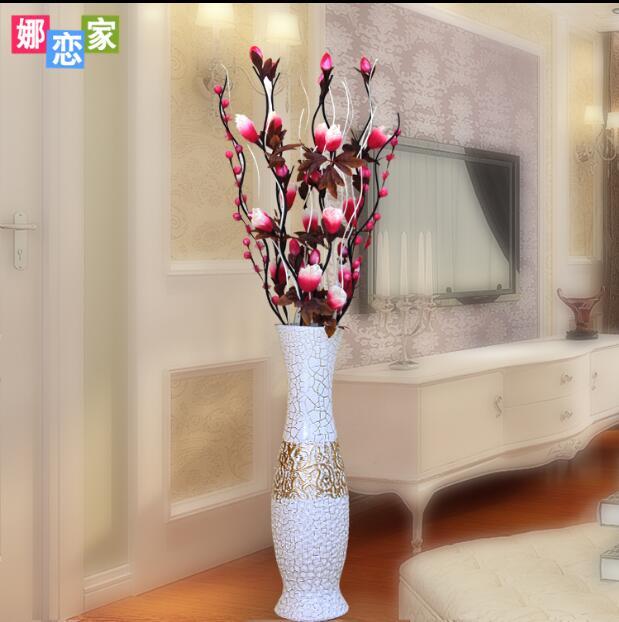 Modern vase ornaments living room landing artificial ...