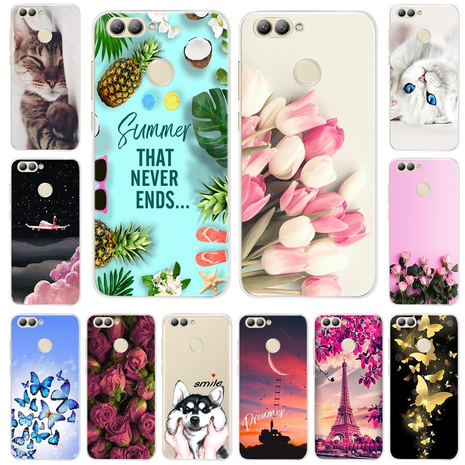 "Soft TPU Case For Huawei NOVA 2 Cute Cartoon Silicone Cases Cover For Huawei Nova2 Phone Case nova 2 PIC-LX9 Cover Fundas 5.0"""