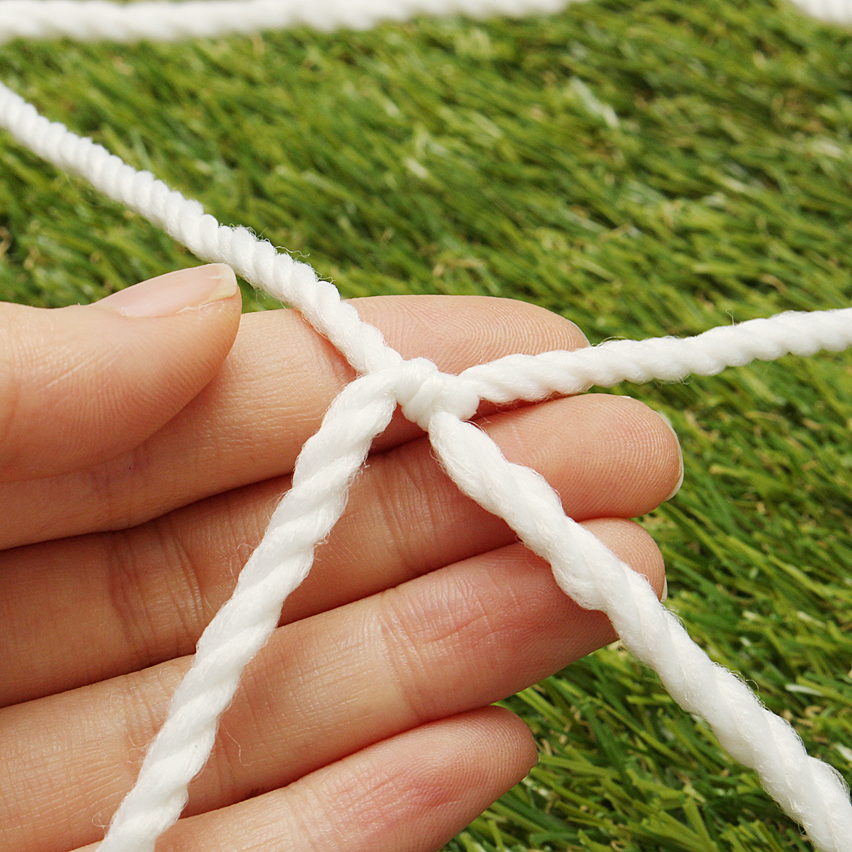 Soccer Goal Post Net For Sports Training Match 6