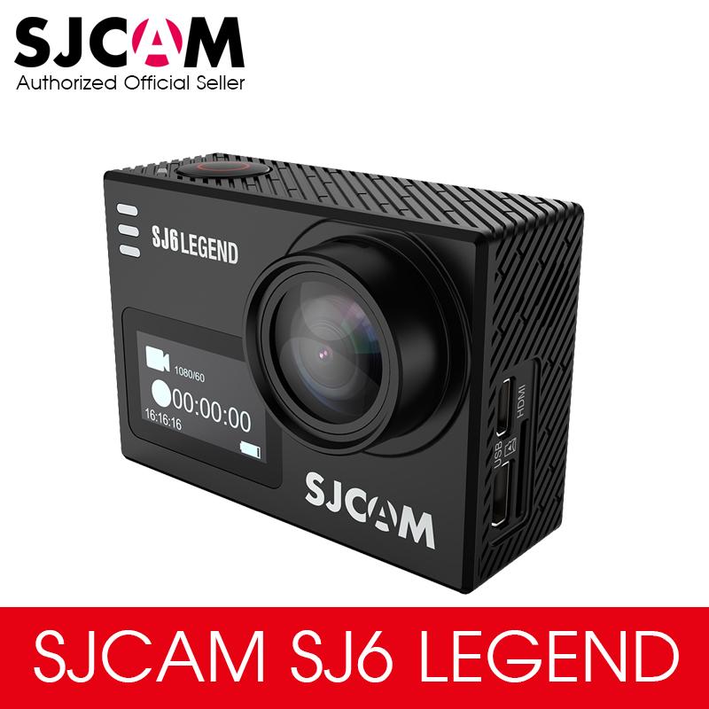 """Prix pour D'origine sjcam sj6 légende 4 k 24fps 2.0 """"Écran tactile À Distance Ultra HD Notavek 96660 30 M Étanche Action Sports Caméra Voiture DVR"""