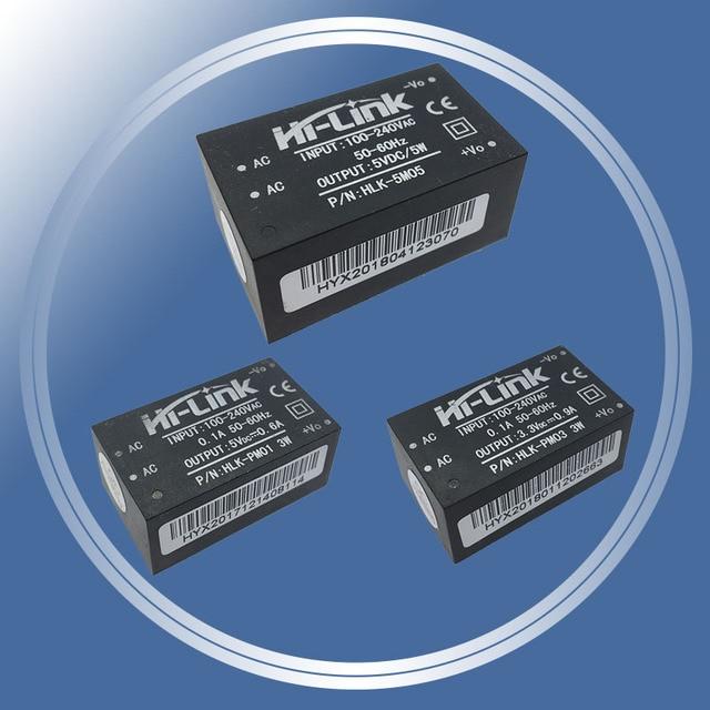 HLK-PM01 HLK-PM03 HLK-5M05 AC-DC 220V to 3.3V Step Down Buck Power Supply Module Intelligent Household Switch Converter
