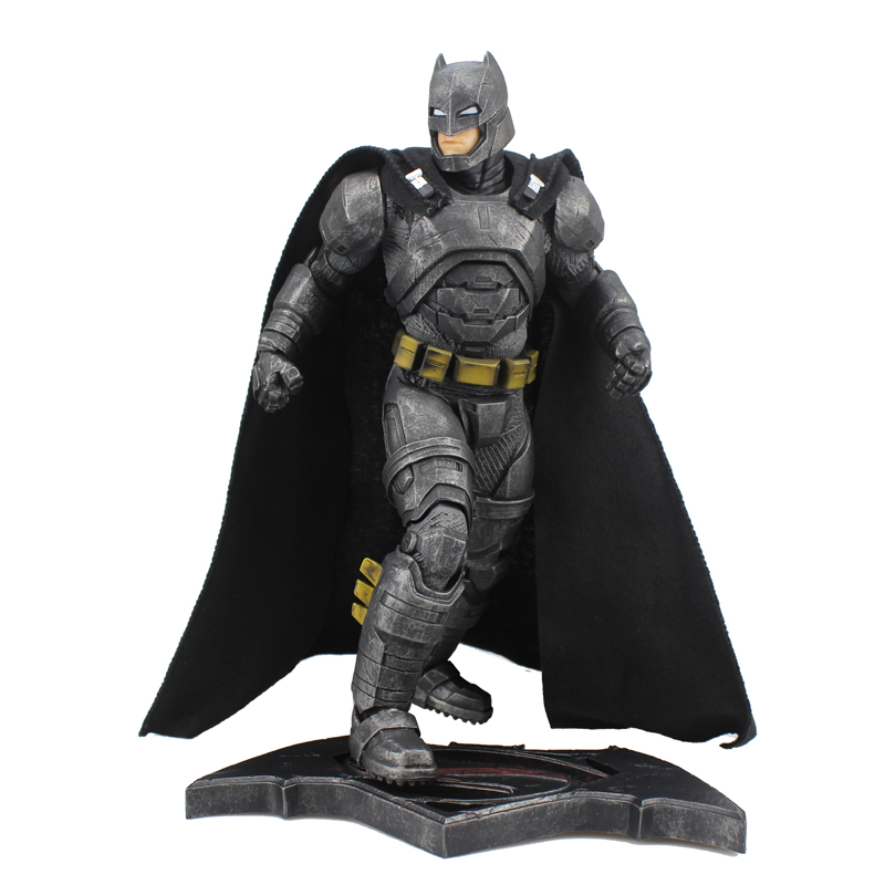 Free Shipping 12 DC Hero Batman VS Superman Batman Heavy Armor CT Ver. Boxed 30cm PVC Action Figure Model Doll Toys Gift gktinoo 2018 summer gladiator sandals women genuine leather flat fashion women shoes open toe casual comfortable female sandals