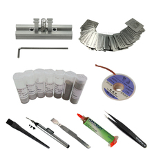 BGA Reballing kit 29pcs Directly Heat Stencils universal Solder Paste Balls Station For Rework Repair