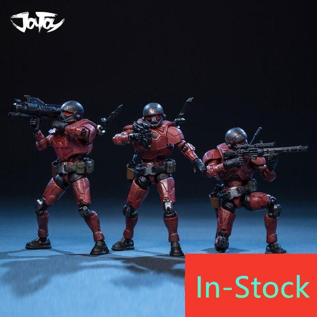 Joytoy 1/25 Action Figure De 4rd Staal Rit Chileense Corps Soldaten (3 Stks/set) model Speelgoed Voor Verjaardag/Vakantie Cadeau