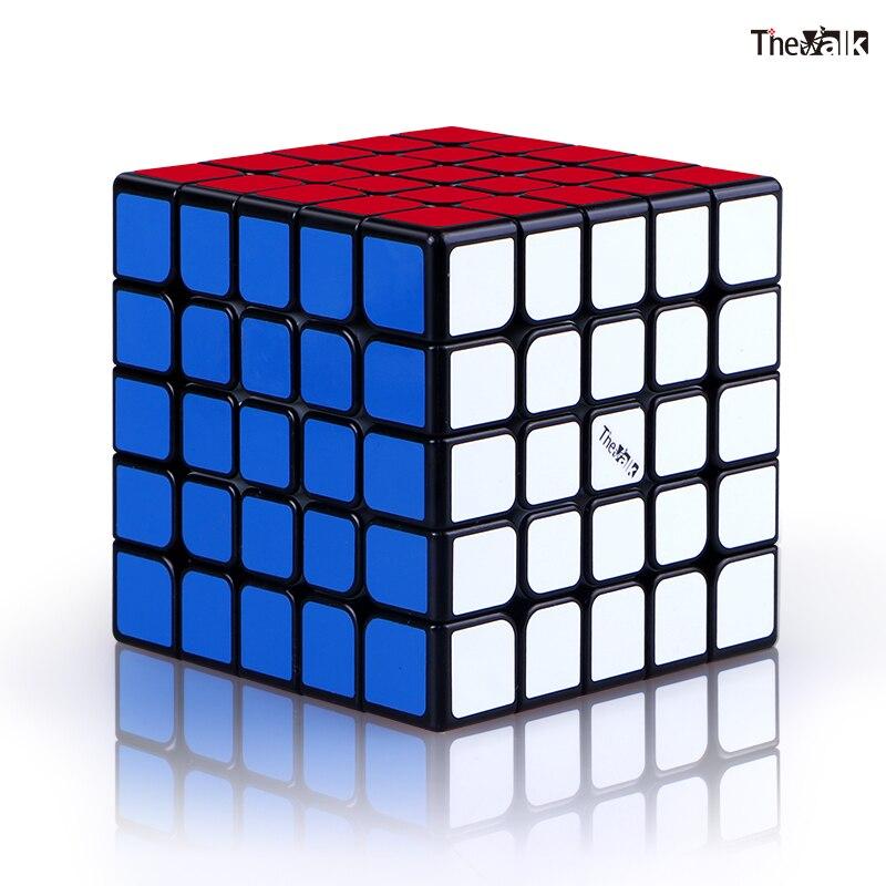 Магнитный скоростной куб XMD QIYI Valk 5 M 5x5, профессиональный куб Valk 5 M, магниты 5x5x5, пазл VALK5 Valk5M, игрушки для детей