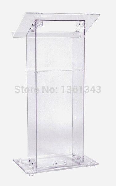 Прозрачный акриловый Подиум дешевые красивые прозрачный акриловый Мебель Акриловые Подиум Кафедрой Трибуна Акриловые Подиум