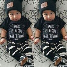 Newborn Child Baby Boys Girls Clothing T-shirt Short Sleeve Pant Baby Clothes Set Baby Clothing Set