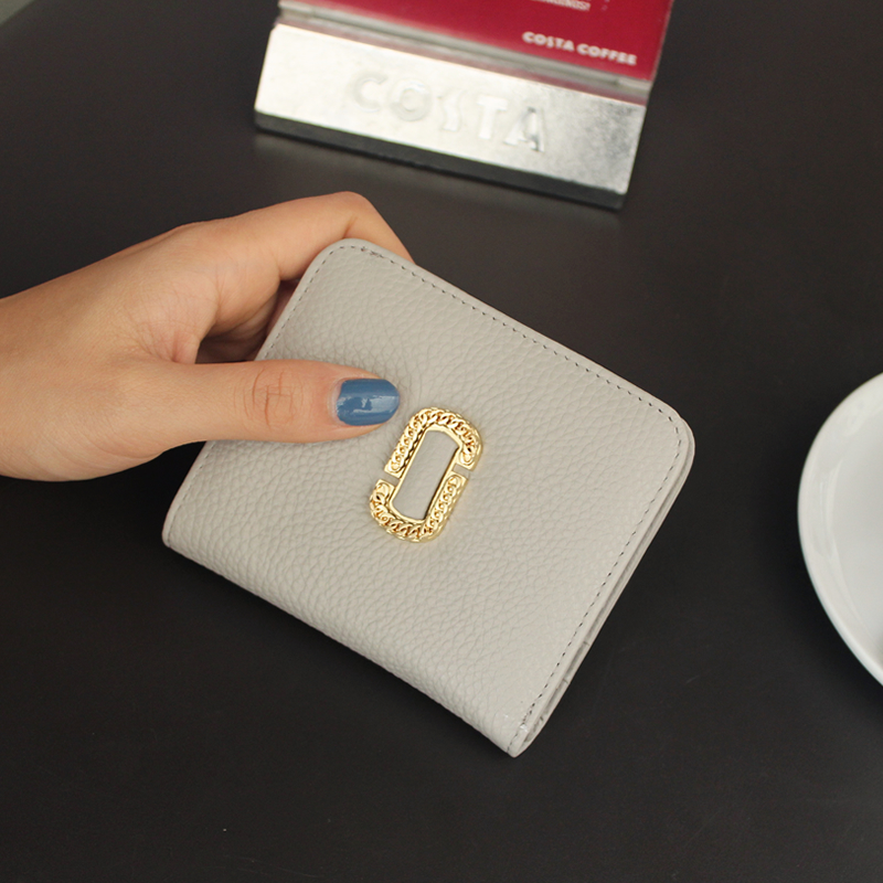 2018 Polyester Sale Coin Pocket Solid Zipper New Minimalist Ladies Slim Short Wallet, Womens Leather Clasp Mini Wallet Wallet.