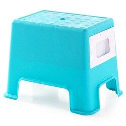 Stołek plastikowy zmieniający buty mała ławka  ludzie mogą usiąść stołek przechowywanie wielofunkcyjne stołek w Stołki i otomany od Meble na