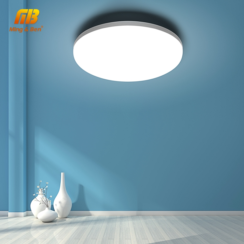 LED Panel Light 110V 220V 18W 24W Surface Mounted Ceiling Light Down Lamp Modern Lamp UFO Ceiling Light For Home Office Lighting