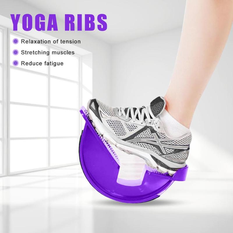 Foot Rocker Calf Ankle Plantar Muscle Stretch Board for Achilles Tendinitis Sports Yoga Massage Fitness Pedal Stretcher
