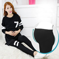2016 Autumn Women Clothing Nursing Breastfeeding Clothes Pregnant Women Long Sleeve Tops+Pants Plus Size Maternity Pajamas Set