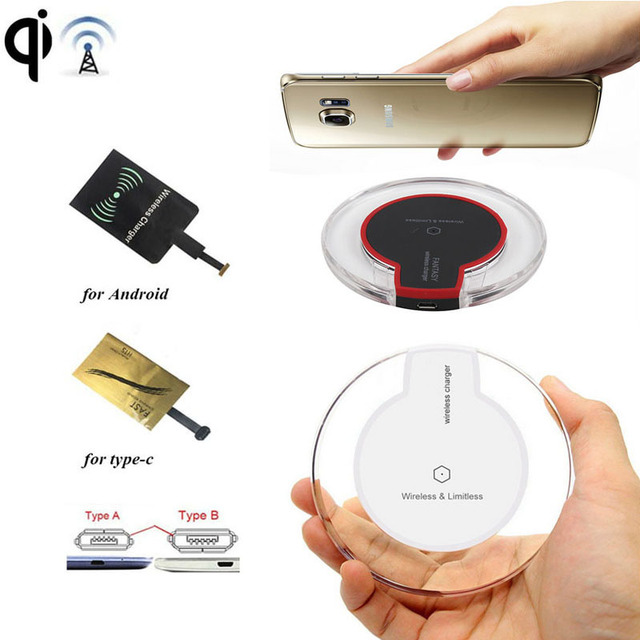 Qi Wireless Charger Charging Pad For Moto Z/Play G4 Huawei