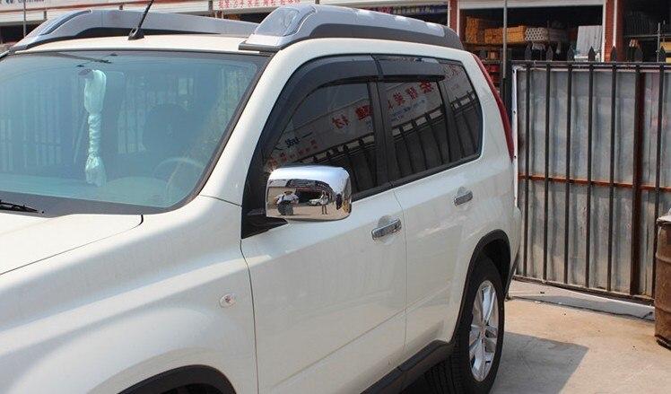 For Nissan X-Trail X Trail T31 Chrome Retrovisore Laterale Retrovisori Copertura Trim 2008 2009 2010 2011 2012 2013