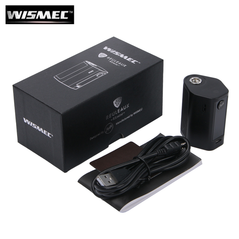 Original WISMEC Reuleaux RXmini 80W Box MOD Vape 2100mAh Battery RX mini Reux Mini TC MOD original wismec active bluetooth music tc box mod with 2100mah built in battery