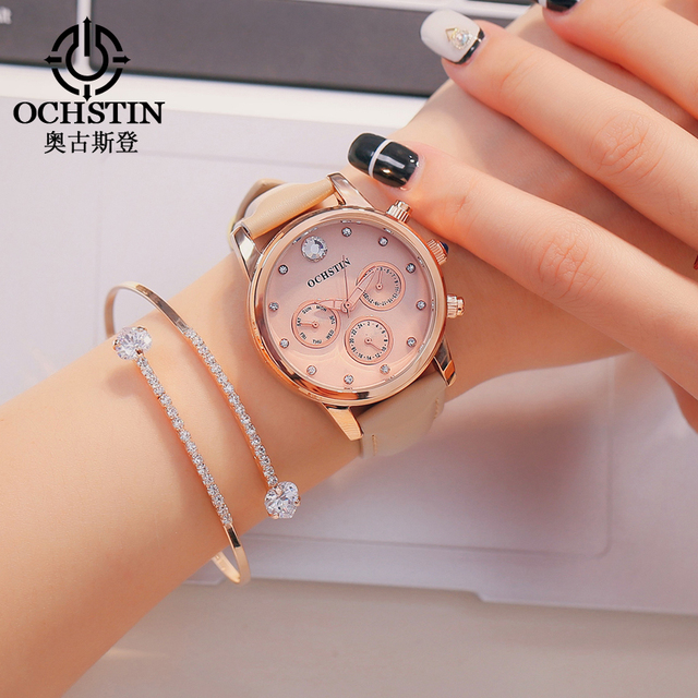 0f0fa74bf4b Mulheres Relógio Pulseira de Relógio Relogio feminino Moda Top Marca de  Luxo Diamante Relógio de Pulso