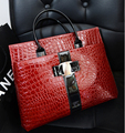 ETN BAG hot sale women handbag female PU Leather bag briefcase business bag tote top-handles lady stone pattern print bag