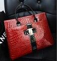 Etn BAG mulheres bolsa feminina PU bolsa de couro maleta bolsa de negócios bolsa de alças de pedra padrão de