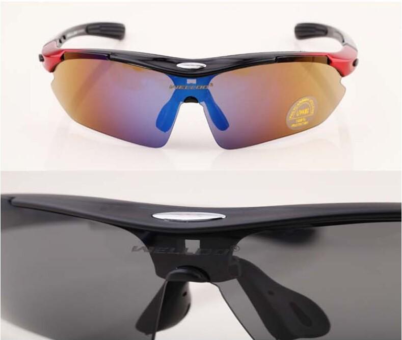 в новые высокоскоростные - класс 5 линзы солнцезащитные очки езда очки поляризованный версия может быть оснащен близорукость на открытом воздухе оборудование