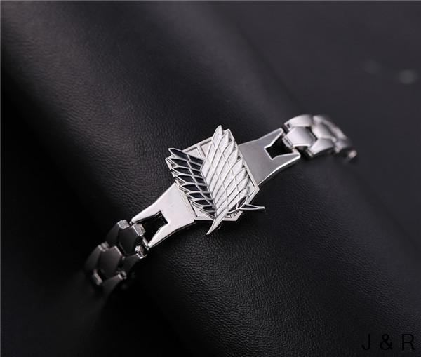 Attack on Titans Wings of Liberty Alloy Bracelets