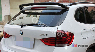 E84 Rear Roof Lip Spoiler Wing For BMW E84 X1 2009-2015 AC Style FRP Unpainted набор автомобильных экранов trokot для bmw x1 e84 2009 2015 на задние двери