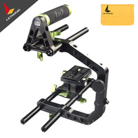 LanParte TH 01 Top Handle Grip with 15mm Rods for DSLR Support System Rig
