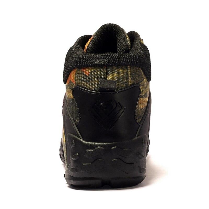 Plus Size 40 46 Outdoor Laarzen Mannen Werken Laarzen Nieuwe Winter Herfst Mode Camouflage Waterdichte Slijtvast Mannen laarzen Botas Hombre - 4